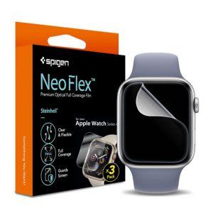[Front 3 pcs] Apple Watch Series 6 / SE / 5 / 4 (44mm) Film Neo Flex