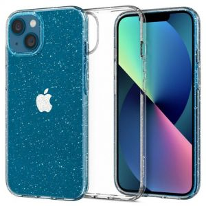 iPhone 13 Mini Case Liquid Crystal Glitter