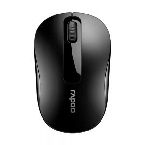 Rapoo M10+ Wireless Optical Mouse-Black