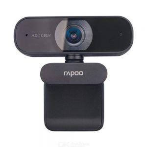 Rapoo C260 USB Black Full HD Webcam 1080P 30hz 360° Horizontal Super Wide-Angle
