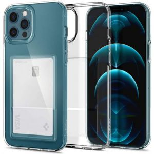 iPhone 12 Pro Max Case Crystal Slot