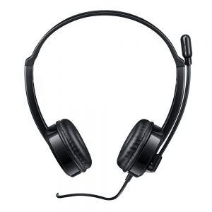 Rapoo H120 USB Wired Stereo Overhead Headset with Microphone