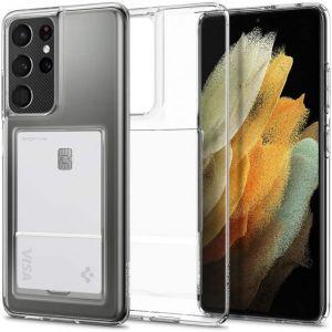 Galaxy S21 Ultra 5G Case Crystal Slot