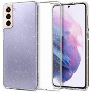 Samsung Galaxy S21+ Case S21 Plus Case Liquid Crystal Glitter