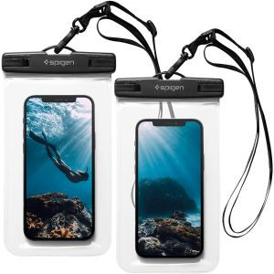 [2 Pack] Spigen A601 Smartphone Fully Waterproof Case (Up To 6.9-inch)