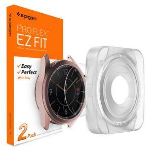 [2 Pack] Galaxy Watch 3 (41mm) Screen Protector Pro Flex EZ Fit