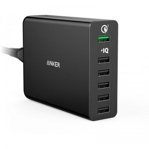 [SG Plug] Anker PowerPort+ 6 Ports 60W with Quick Charge 3.0