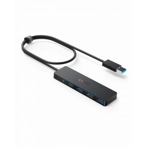 Anker 4-Port USB 3.0 Ultra Slim Data Hub 2ft