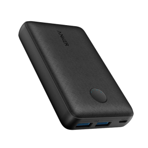 Anker PowerCore Select 10000mah Portable Powerbank with Dual 12W Output Ports-Black