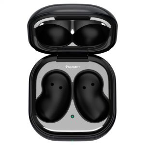 [2 Pack] Galaxy Buds Live Shine Shield Metal Silver Sticker ONLY for Galaxy Buds Live