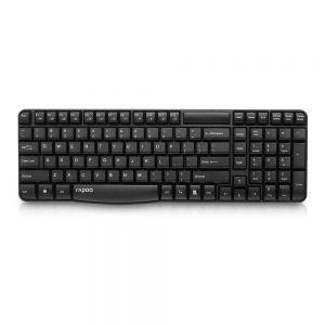 Rapoo E1050 2.4GHz Wireless Keyboard Spill-Resistant