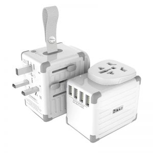 Zikko eLUGGAGE S Worldwide Travel Smart Adaptor 4 USB Ports