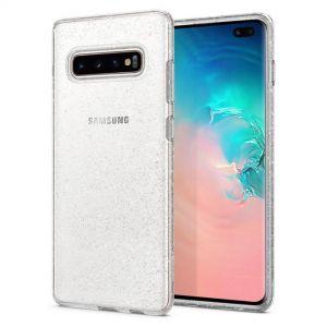 Galaxy S10+ Case Liquid Crystal Glitter