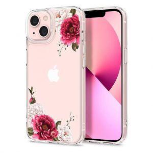 CYRILL Ciel iPhone 13 Case Spigen Sub Brand Red Floral