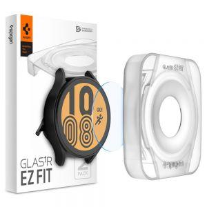 [2 Pack] Spigen Samsung Galaxy Watch 4 (44mm) EZ FIT GLAS.tR